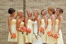 Yellow or Orange Beach Weddings  / by Princess Wedding Co