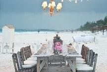 Beach Wedding Reception / by Princess Wedding Co
