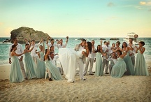 Mint Turquoise  Beach Wedding  / Mint, Turquoise and Tiffany Blue wedding ideas.
