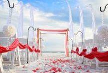 Coral Beach Wedding / by Princess Wedding Co