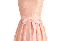 Princess Party! / Bridesmaids Dresses & Accessories / by Shena Lee