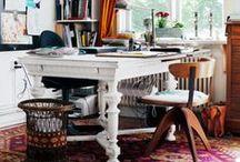 work space / by Bekah & Scarlett