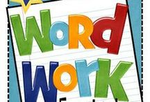 Word Work / by Allison Harvey