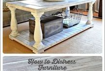 Furniture Redo / Refurbishing tips and tricks. Painting furniture, redoing furniture, furniture makeover.