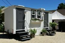 The Water Cottage / portable restrooms with design in mind www.thewatercottage.com / by Zephyr Tents