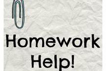 Homework Help / by Allison Harvey