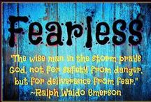 Fearless / Word for the year 2015  / by Holly Massie