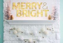 Christmas Decor / All things Christmas. Decor, printables, gift wrapping ideas, etc.