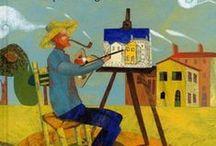 Vincent van Gogh - kinderboeken / Kinderboeken en jeugdboeken over Vincent van Gogh, inclusief verhalen in historische verhalenbundels.