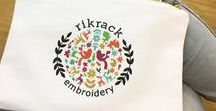 Rikrack Embroidery