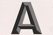 Paper & type / Des chiffres et des lettres
