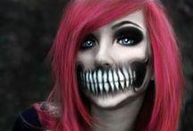 Dark & Dreary, Creepy & Weary / Halloween decor, make up, vampire masquerade, costumes / by Kristin Delgado