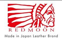 """REDMOON -Made in Japan- / Redmoon Japan's most inovative brand since 1993.  Our leather wallet with the """"Basic Evolution"""" design concept uses Redmoon's exclusively produced Aged Saddle Leather. Elevating the wallet from a smaller role, to the focus our fashion design.   Leather Craftsman hand selected by our Redmoon designers produce exclusively for our """"Village Works"""" Made in Japan."""