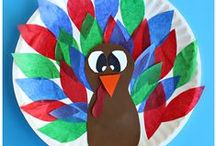 Fall Ideas / Fun fall ideas, crafts for kids and fall recipes. All about apples, pumpkins, leaves, Halloween and Thanksgiving crafts and activities