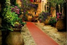 Tuscan Style, and Old World Charm Decor Nuggets / by Nancy Lorraine