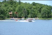 Fun at the Resort / Four Seasons Resort on Lake Namakagon is located on the edge of the vast Chequamegon National Forest in Northern Wisconsin's Bayfield County making this an ideal location for fishing, snowmobiling, cross country skiing, hunting, hiking and bicycling. Like the name suggest, we like to have fun year round!