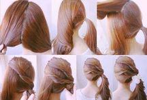 Hairstyles / Beautiful Hairstyles! / by Music Lover  ♪(´ε` )