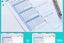 Homeschool Planning & Organization / Homeschool organization ideas and lesson planning printables, homeschool planning ideas and homeschool schedules