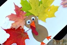 Thanksgiving Ideas / Great Thanksgiving recipes and Thanksgiving crafts and activities for kids including turkey crafts, and Thanksgiving printables