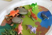 Dinosaurs / Fun dinosaur crafts and activities for kids - dinosaur crafts, dinosaur activities and pre-history lessons and kids activities and dinosaur lesson plans