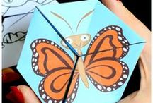 Bugs / Fun bug activities to learn about bugs. These learning ideas with bugs, insects, bug crafts are exciting ways to learn about ladybugs, bees, ants, butterflies, dragonflies and beetles.