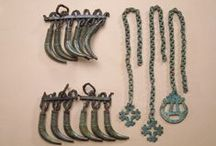 Viking age tooth pendants