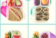 Lunch Box Ideas / Lunch ideas, lunch packing tips and lunch recipes.