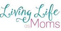 Living Life as Moms / Canadian mom sharing encouragement for busy moms. I share parenting advice, organizing ideas, healthy living, essential oils and easy recipes. Anything that will help moms live a healthy and happy lifestyle.  Livinglifeasmoms.com