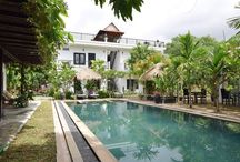 """The Botanic Villa boutique hotel , Siem reap, Cambodia. / Gem of Siem Reap , it is a"""" must stay"""" place."""