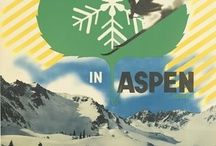 Vintage Ski Posters : Simply Piste / Throwing it back with some retro ski posters.