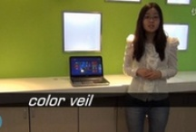 ColorVeil / A color filter over your screen. Dim screen brightness, or browse the Web in Red. Free portable app.