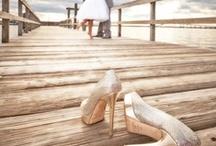 Ślub | Buty do ślubu / #buty #szpilki #white #buty do ślubu #buty ślubne #wedding shoes