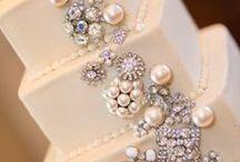 Ślub | Torty weselne / #torty #torty weselne #biżuteria #ślub #wedding #wedding cake #jewellery