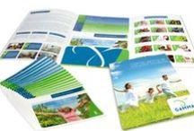 Folders/Cartões de Visita / Arte offline de pastas impressas/Folder/Cartões de visita para promoção de marcas.