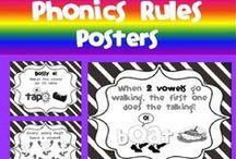 Phonics/Phonemic Awareness / by Sharon Speth