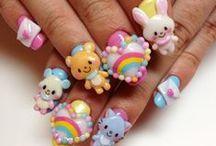 Nails & polishes / Nail art designs for long & short nails