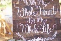 Wedding Signs I Heart