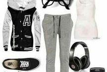 Lazy day outfits / by Shawna Stevenson