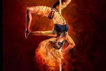 Photography wearing Wink / Wink customers wearing clothing for pole, aerial arts, yoga and fitness