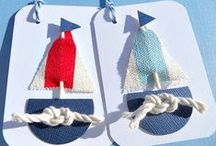 NAUTICAL CARDS & TAGS