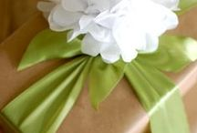 BEAUTIFUL WRAPPINGS / Sometimes prettier than the gift!