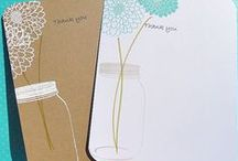 THANK YOU CARDS / When you need a little thank you for someone special