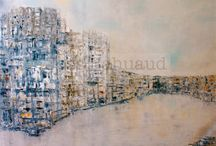 Mon travail / my work / http://jossbahuaud.wix.com/artiste