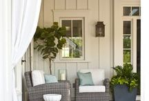 Patios Decks and Porch Inspirations / Sit back and RELAX!