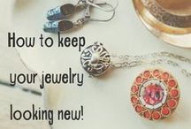 Jewelry Care Tips / DIY and home remedies for taking care of jewelry.  Fine jewelry to costume pieces will last a long time if cared for properly.