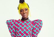 Colorfull fashion / colorfull, colors, fashion, jewelry, editorial, models, dress, wig, makeup