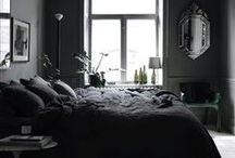HOME ★ Dark Interiors / Amazing dark interior ideas