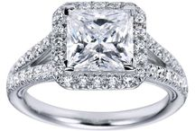 Princess Cut Engagement Rings / Best Princess cut engagement rings in the world
