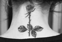 floral inks / ideas/inspiration for 'English Rose' tattoo