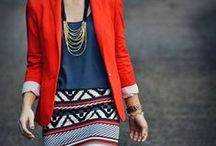 Simple Work Style / Professional style inspiration to keep work attire fun, fashionable and formidable.